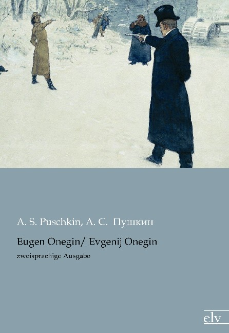 Cover des Titels Eugen Onegin/ Evgenij Onegin von Puschkin A. S.; Пушкин